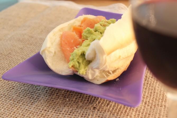 sanduiche salmao