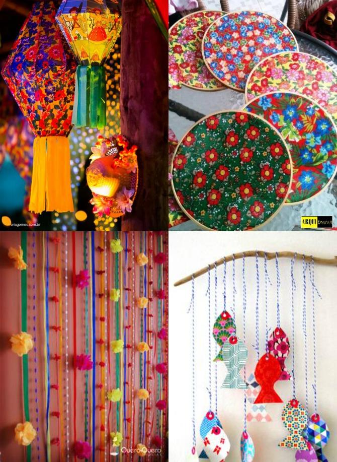 inspirações para decoração de festa junina