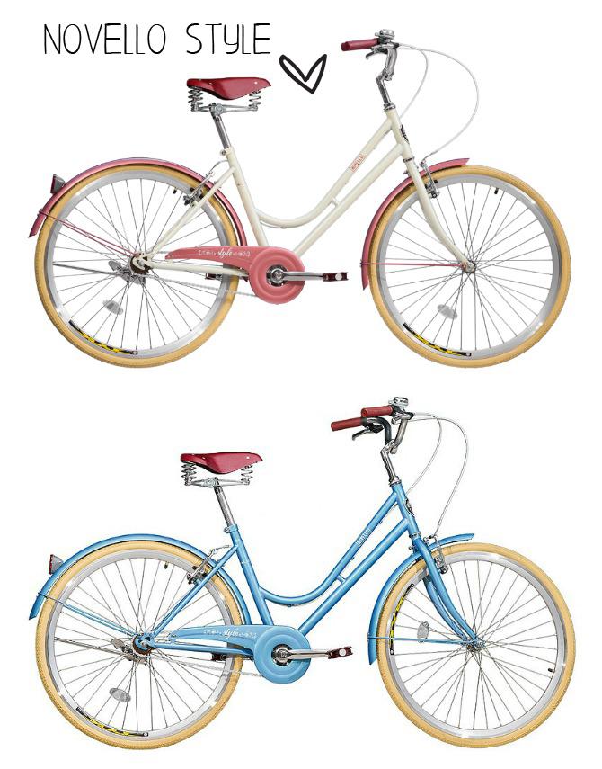 bicicleta retro novello style onde comprar copy