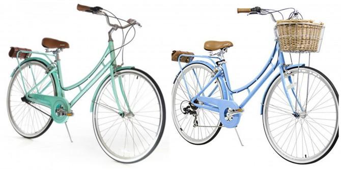 nadine xds bicicleta retrô feminina